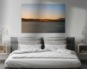 Sonnenuntergang Seeblick von Robert de Boer
