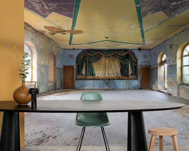 Beispiel fototapete: verlassener Tanzsaal von Kristof Ven