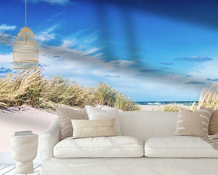 Beispiel fototapete: Dänische Küste bei Skagen von Florian Kunde