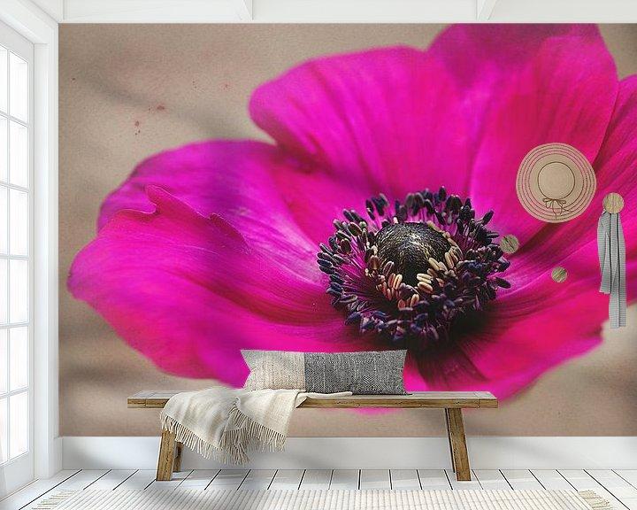 Sfeerimpressie behang: Poppy van Anita Servaas