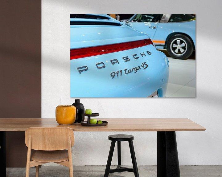Beispiel: Porsche 911 Targa 4S Sportwagen Detail und Klassiker der 1970er Jahre Porsche 911 Targa von Sjoerd van der Wal