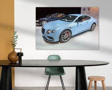 Bentley Continental GT V8 S GT sportwagen van Sjoerd van der Wal