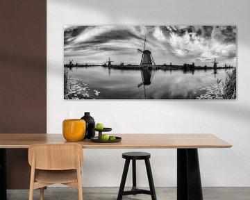 Kinderdijk Panorama von Joram Janssen