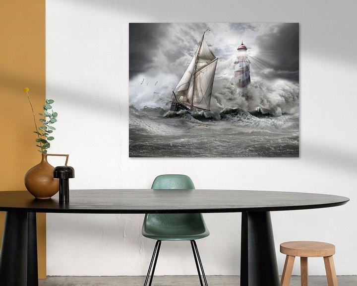 Sfeerimpressie: stormy weather 1 van jejaka art