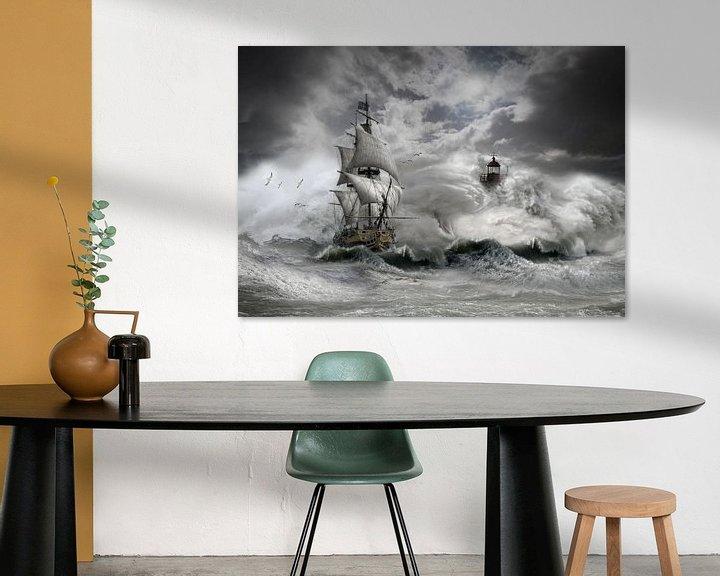 Sfeerimpressie: stormy weather 2 van jejaka art