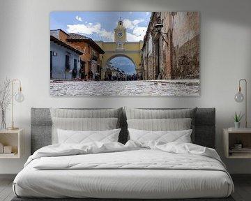 Antigua Guatemala van Joost Winkens