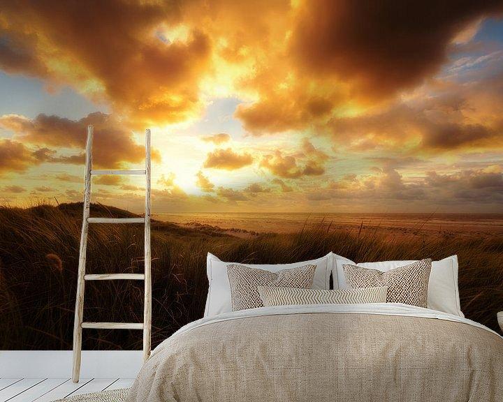 Impression: Promenade au coucher du soleil II sur Cho Tang
