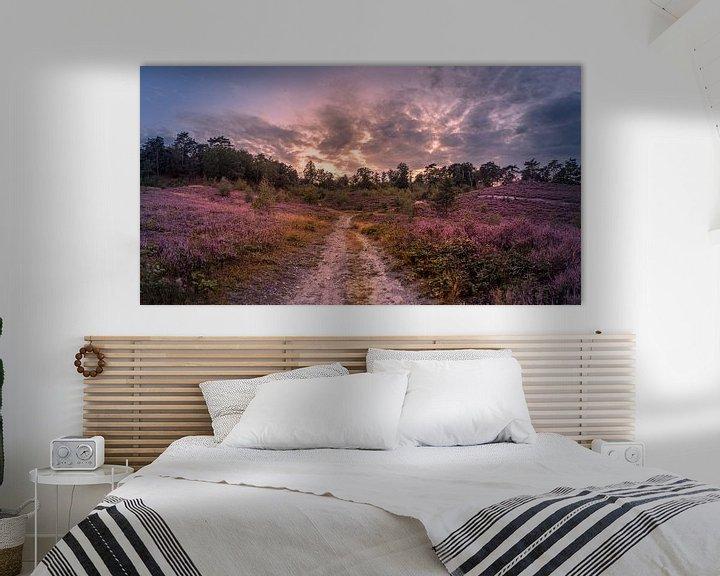 Sfeerimpressie: purple van Bas Handels