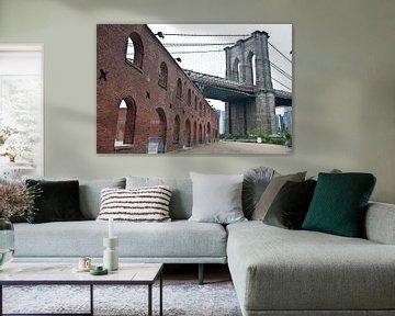 Brooklyn Bridge von Jacintha Van beveren