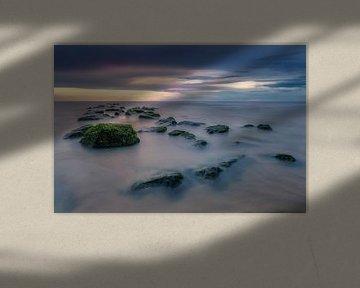 Sunset on the Rocks van Machiel Koolhaas