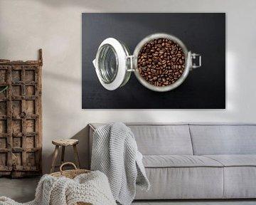 Koffie bonen - Jar Collection 2020 van Olea creative design