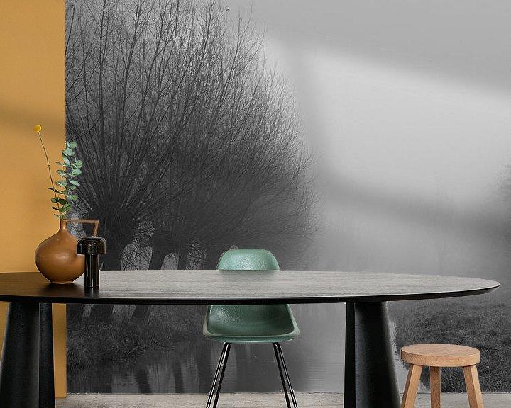 Beispiel fototapete: Nebel von sophiimage
