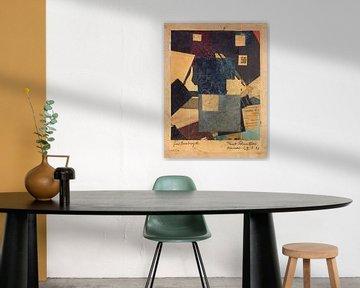 Kurt Schwitters, Merz 50 Komposition - 1922 von Atelier Liesjes