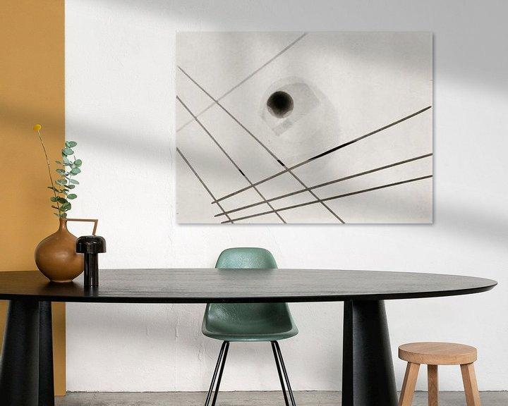 Sfeerimpressie: Bauhaus, László Moholy-Nagy, zonder titel - 1925 van Atelier Liesjes