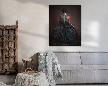 Das afghanische Kleid von Anja van Ast