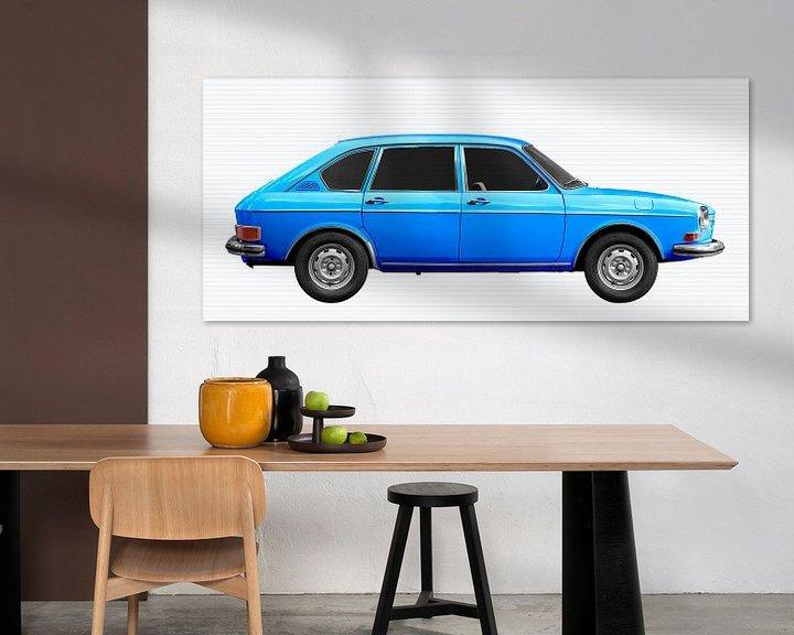 Beispiel: VW 411 in blue von aRi F. Huber