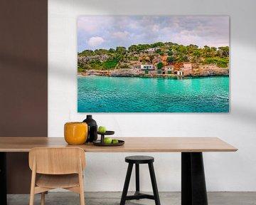Mallorca strand en baai van Mustafa Kurnaz