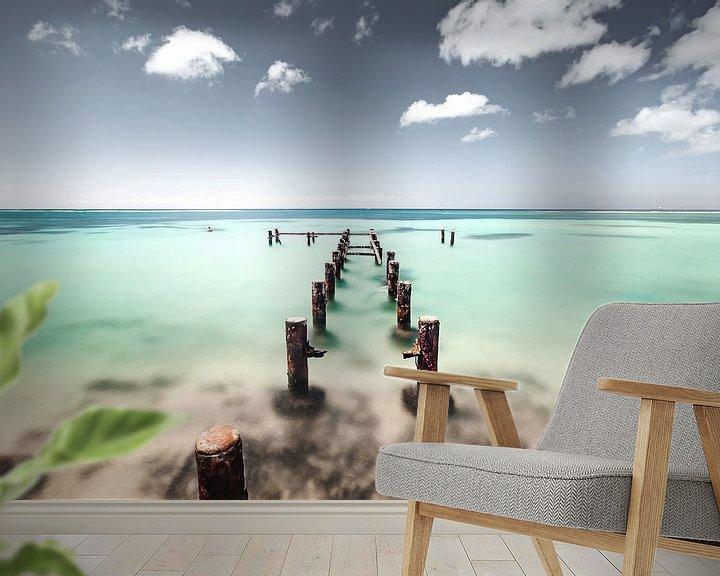 Sfeerimpressie behang: Dreamfuel van Claire Droppert
