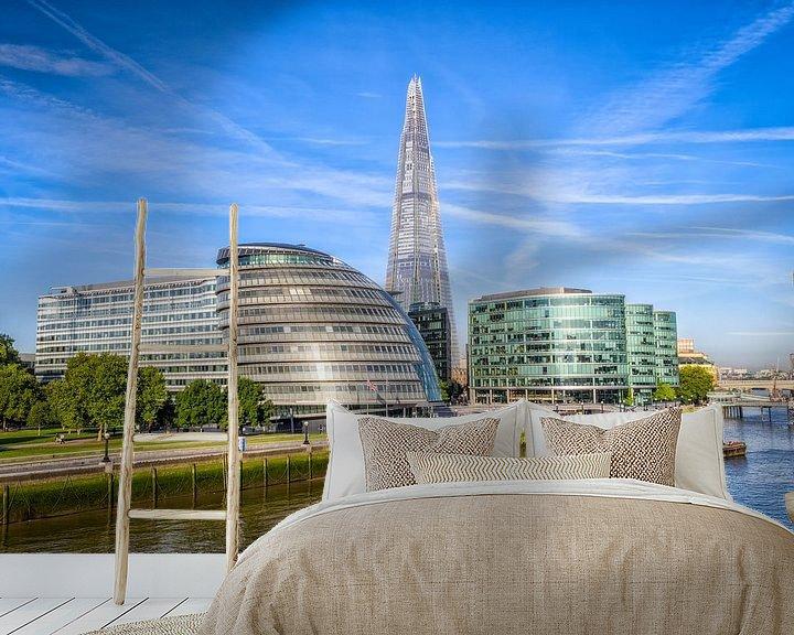 Beispiel fototapete: Rathaus von London von Johan Vanbockryck