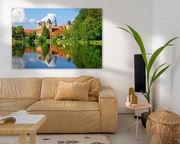 Schloss Thurnau in der Abendsonne
