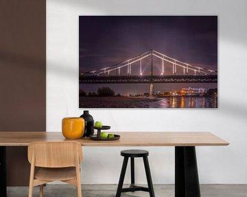 Krefeld-Uerdinger-Brücke von Bas Handels