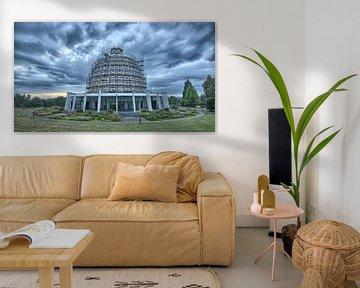Bahai tempel in Langenhain (Duitsland) van Arie-Jan Eelman