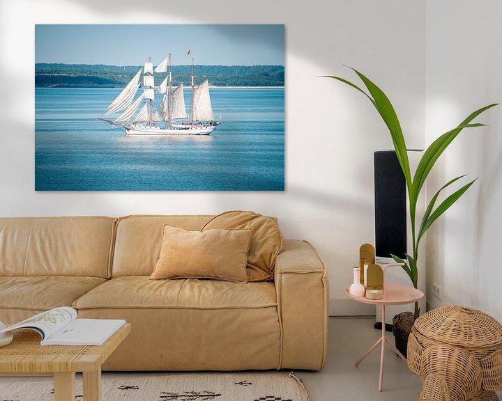 Beispiel: Segelschiff in der Ostsee von Mirko Boy
