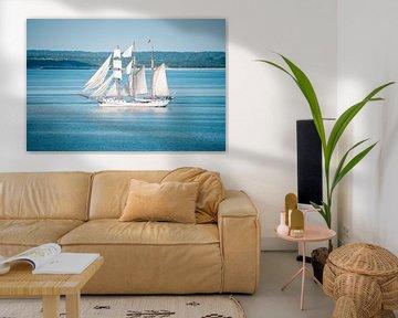Segelschiff in der Ostsee von Mirko Boy