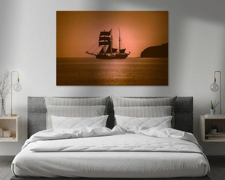 Sfeerimpressie: Zeilschip in de Oostzee van Mirko Boy
