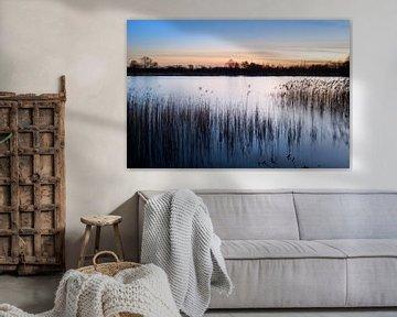 Sonnenuntergang bei De Wijers von Johan Vanbockryck