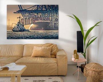 Hafenschlepper im Hamburger Hafen