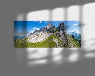 """Panorama de la montagne """"Kampei"""" sur Coen Weesjes"""