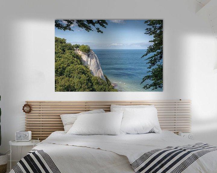 Sfeerimpressie: Königsstuhl, krijtrotsen krijtkust eiland Rügen van Mirko Boy