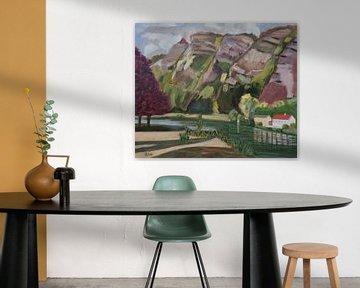 Chooz Nordfrankreich von Antonie van Gelder Beeldend kunstenaar