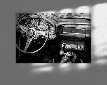 Alfa Romeo 2600 Spider Sportwagen-Armaturenbrett von Sjoerd van der Wal