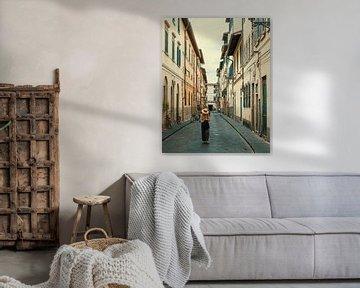 Straßenszene in den Vorstädten von Florenz von Studio Reyneveld