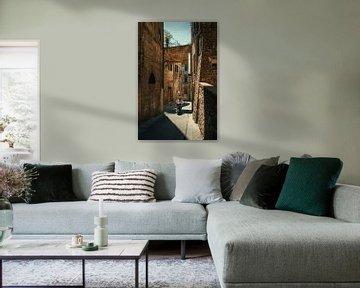 Straßenszene in Perugia von Studio Reyneveld