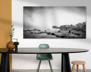 Oversteek van de Wildebeest von Van Renselaar Fotografie