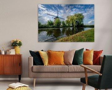 Mühle Oostzijdse bei der Gein von Arno van der Poel