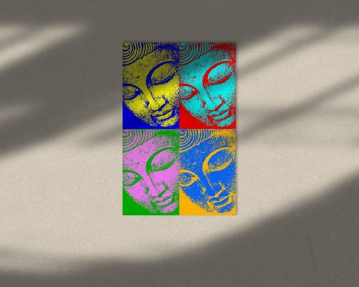 Beispiel: Buddha - 4 Seasons von Michael Ladenthin