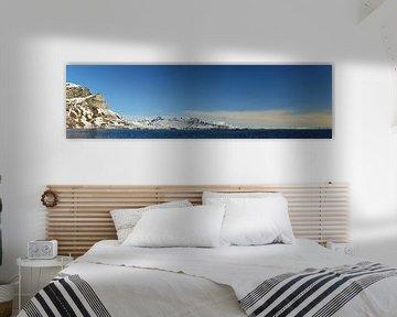 Panoramisch Spitsbergen van Renzo de Jonge