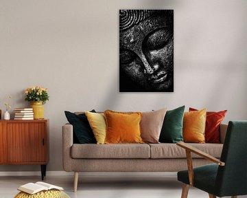Zwart september - Boeddha van Michael Ladenthin