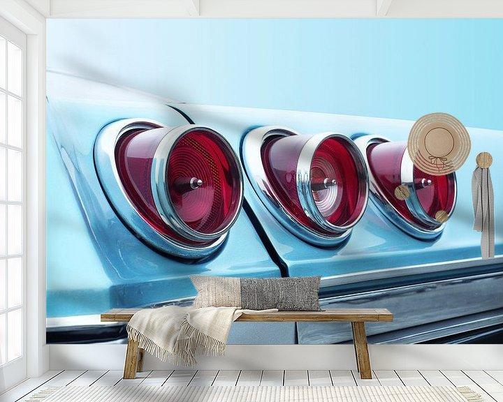Sfeerimpressie behang: Amerikaanse klassieker Impala 1965 Super Sport 327 van Beate Gube