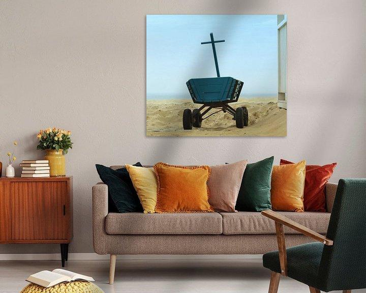 Beispiel: Holz Buggy mit Meerblick von Mieneke Andeweg-van Rijn
