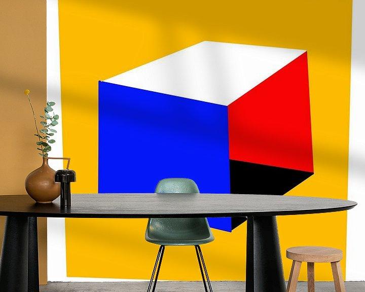 Beispiel fototapete: Bauhaus essentials von Raymond Wijngaard