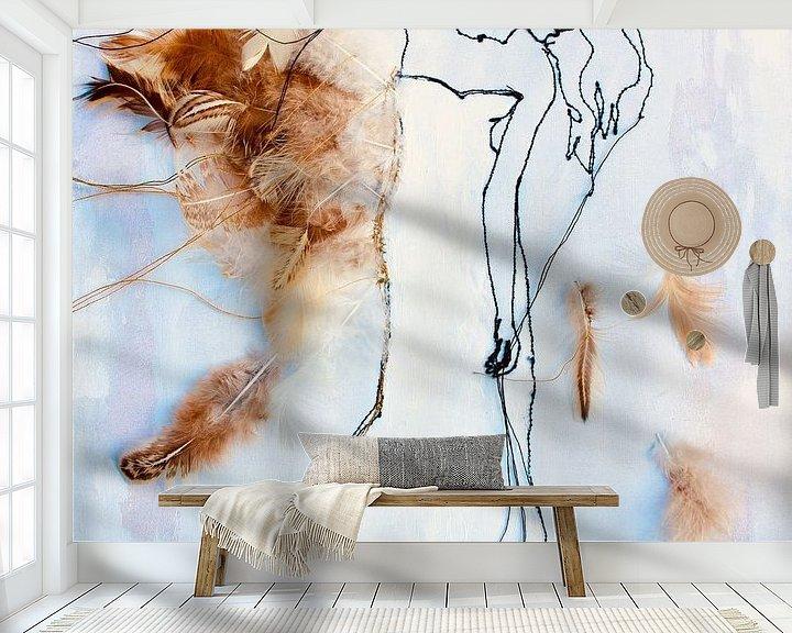 Beispiel fototapete: Widrigkeit &Ampel; Belastbarkeit'2 von Kim Rijntjes
