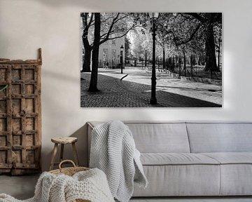 Breda Cingelstraat Zwart-Wit van JPWFoto