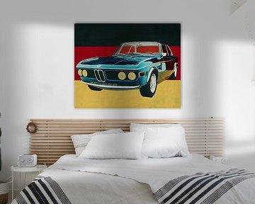 BMW 3.0 CSI 1971 ein typisch deutsches Auto von Jan Keteleer