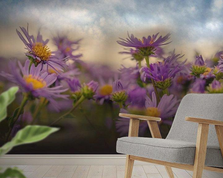 Beispiel fototapete: Blumenfeld von Ellinor Creation