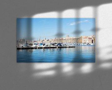 Hafen von Marseille, Frankreich von Danique Verkolf
